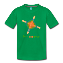 Load image into Gallery viewer, Kids' Premium T-Shirt - This Is Our Prayer - kelly green