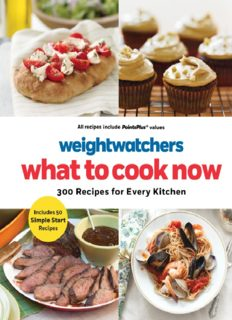 Weight watchers what to cook now - 300 Recipes