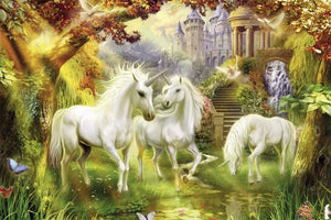 Fantasy Unicorns Heaven 1000 Pieces Jigsaw Puzzles