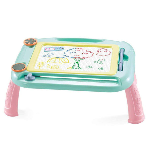 Green Detachable Writing Mini Magna Doodle Board Pad Toys Kids Magnetic Drawing Board
