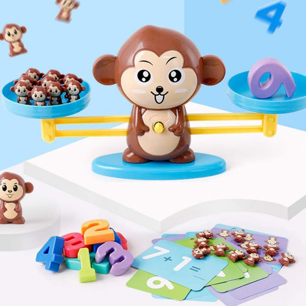 Newest Math Game Toys Balance Monkey Education Kids Math Learning Toys