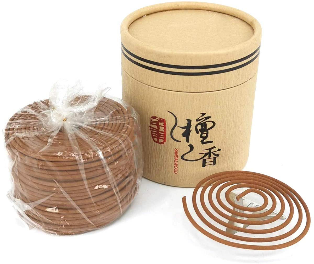 48pcs Spiral Incense Coils Odor Home Decor Indoor Aroma 4 Hours