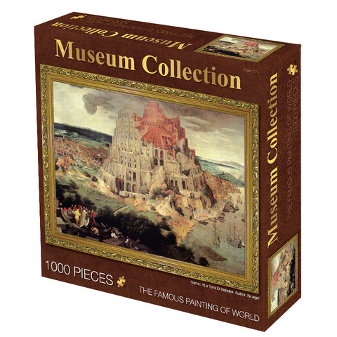 Ancient Building The Tower of Babel 1000 Pieces Jigsaw Puzzles