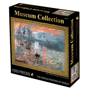 Claude Monet Art Sailboats on The Seine 1000 Pieces Jigsaw Puzzles