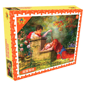 Educa While She Was Sleeping Painting Art 1000 Pieces Jigsaw Puzzles