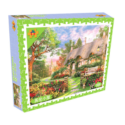 European Rural Country Scenery 1000 Pieces Jigsaw Puzzles