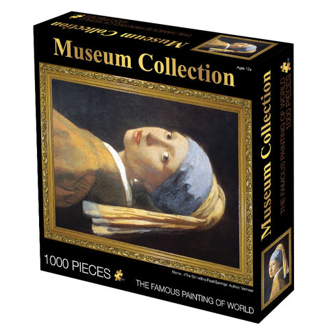 Famous Painting Girl with a Pearl Earring 1000 Pieces Jigsaw Puzzles