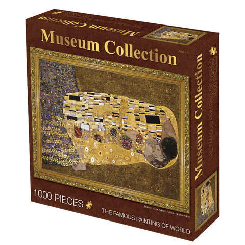 Famous Painting The Kiss 1000 Pieces Jigsaw Puzzles