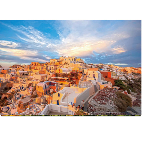 Greece Athens City Hotel Scenic 1000 Pieces Jigsaw Puzzles