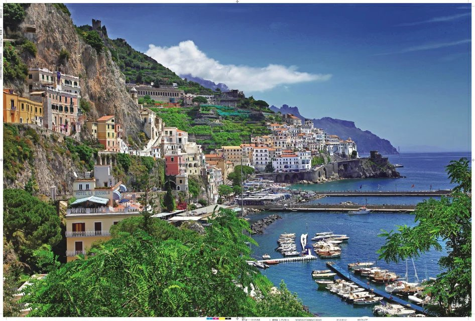 Italy Positano Aegean Sea Coast 1000 Pieces Jigsaw Puzzles