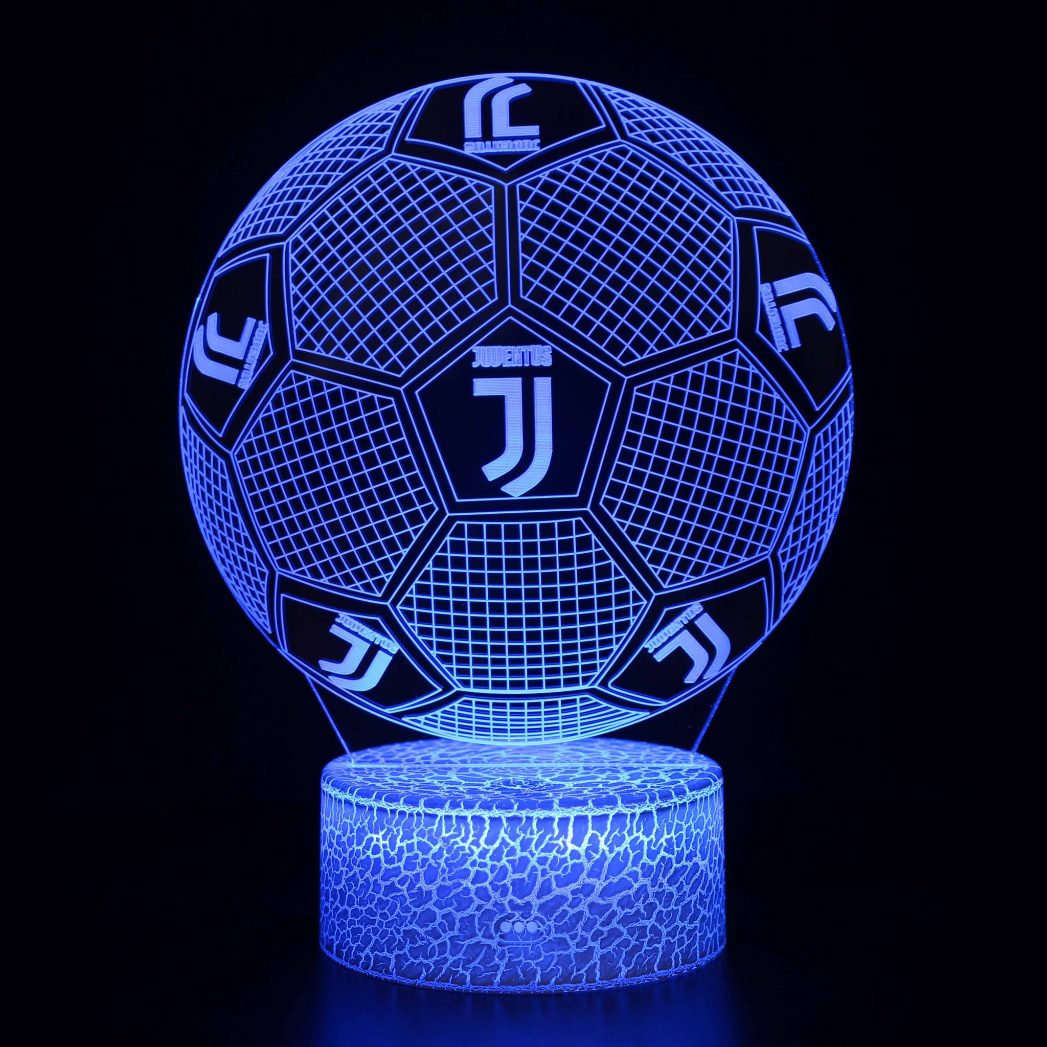 Juventus Football Lamp 3D Night Light