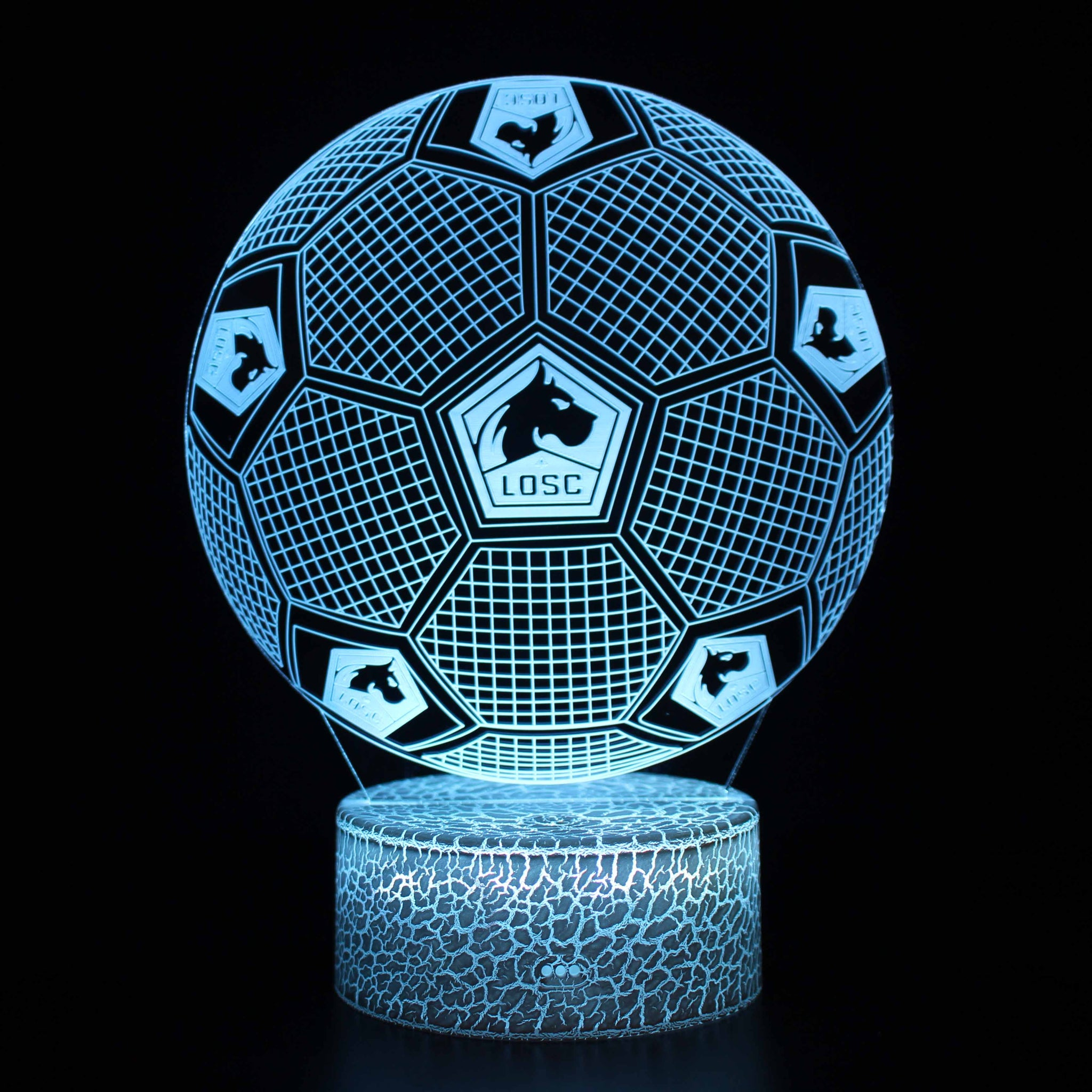 Lille OSC Football Lamp 3D Night Light