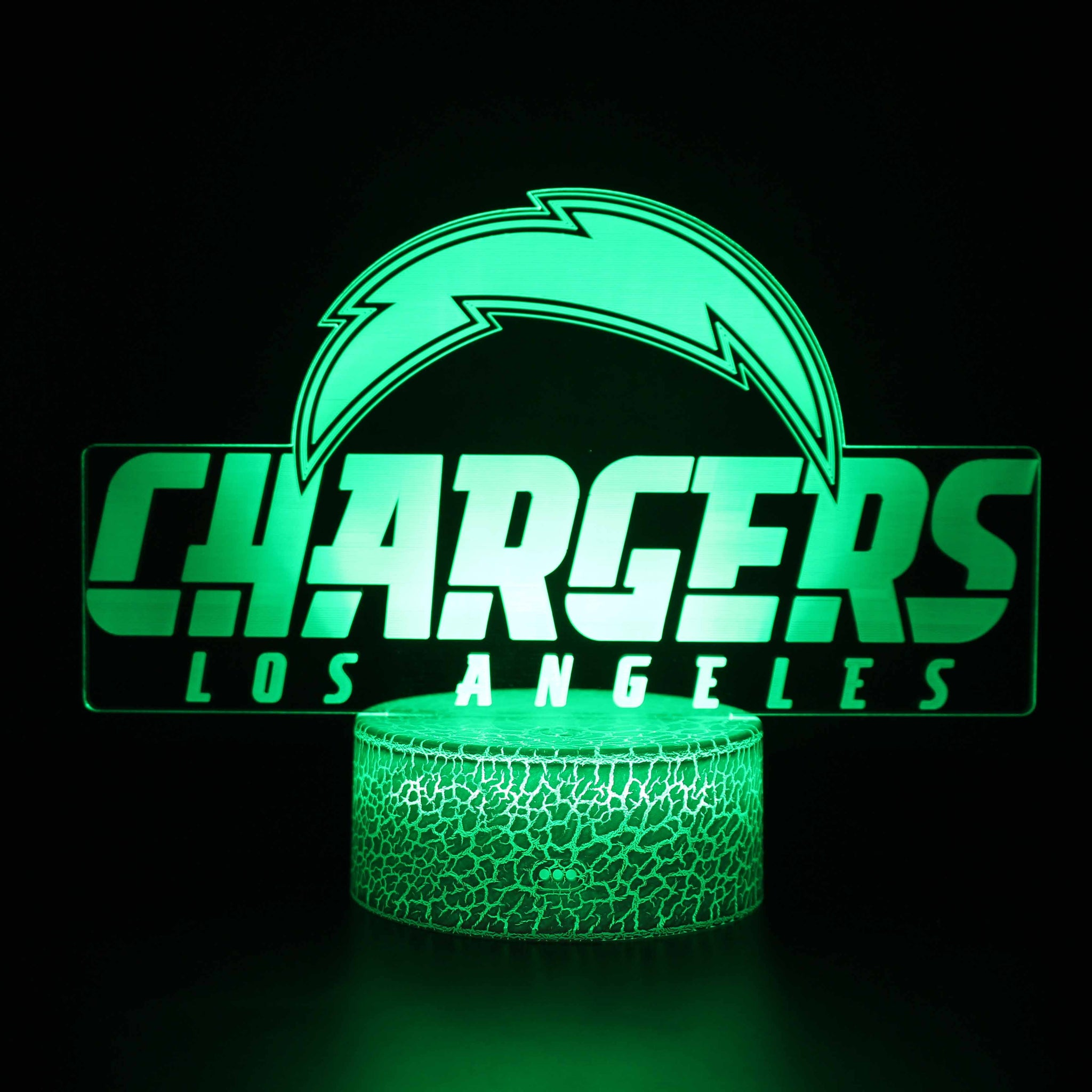 Los Angeles Chargers Logo NFL 3D Night Light