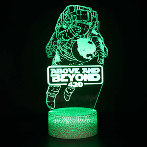 Above and Beyond Astronaut Album 3D Night Light