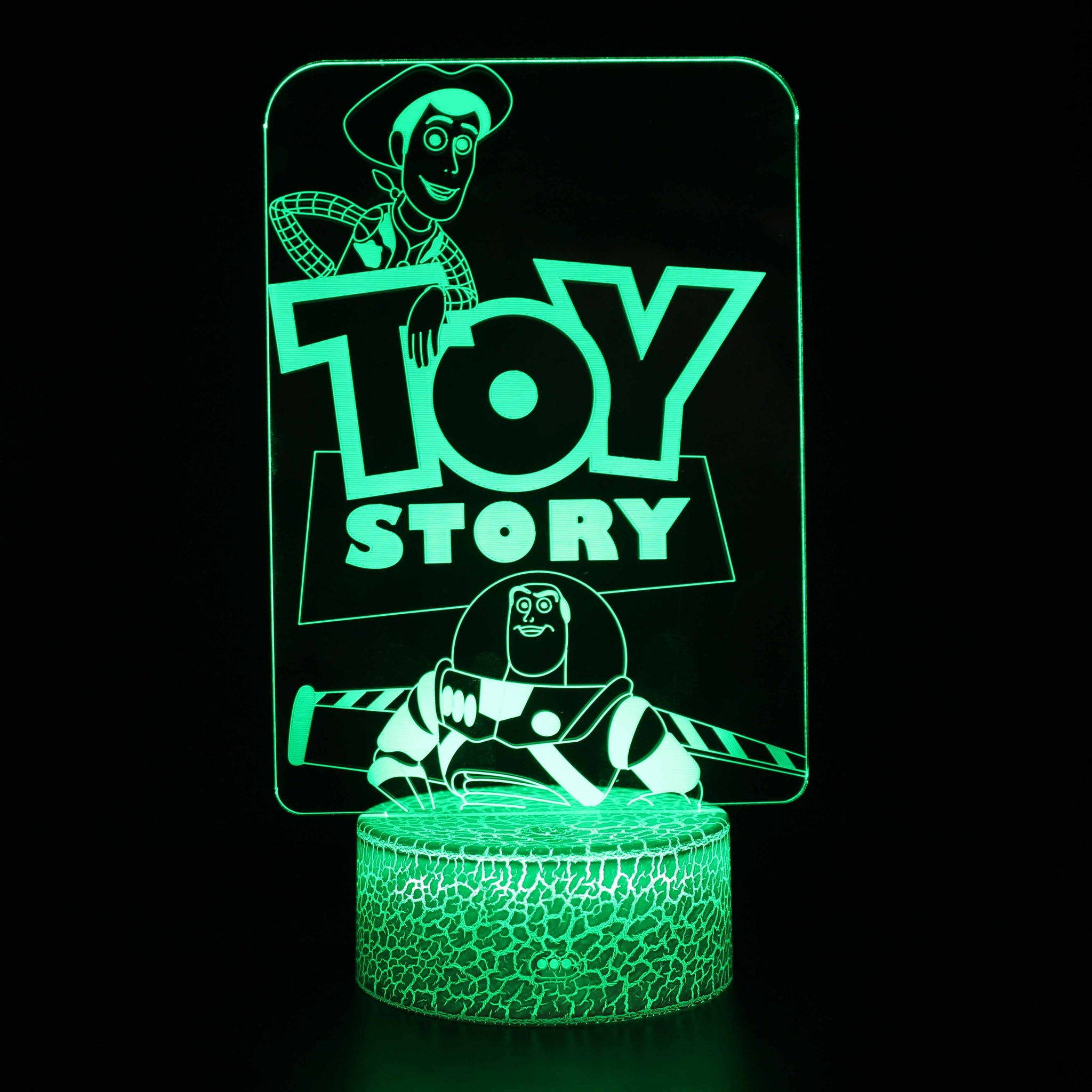 Toy Story Woody Buzz Lightyear 3D Night Light