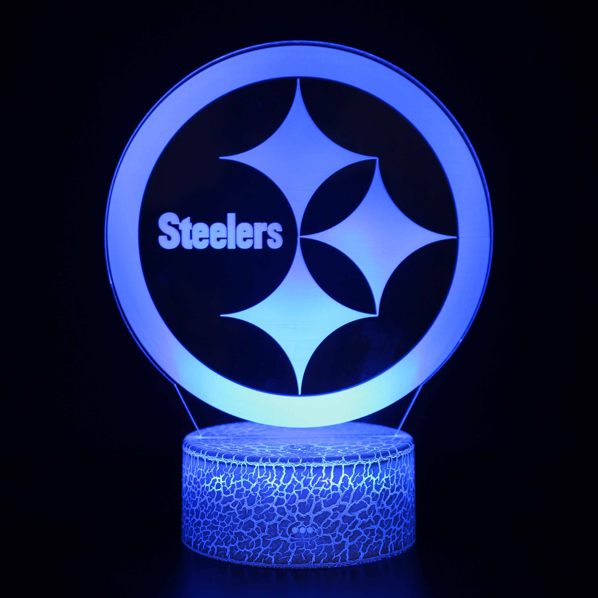 Pittsburgh Steelers Logo NFL 3D Night Light