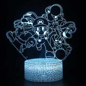 Nintendo Super Mario Bros 3D Night Light
