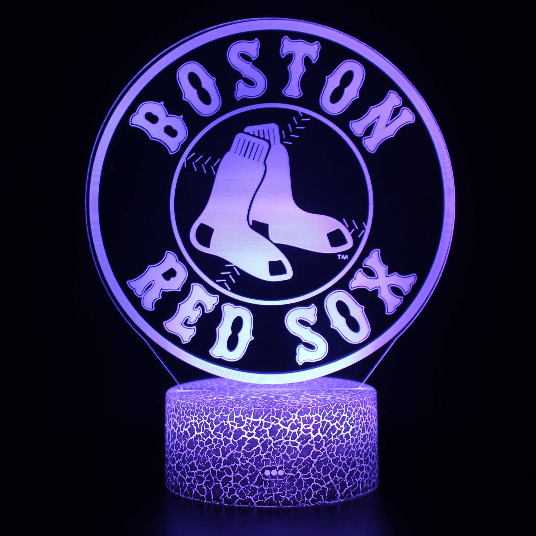 Boston Red Sox MLB Logo 3D Night Light