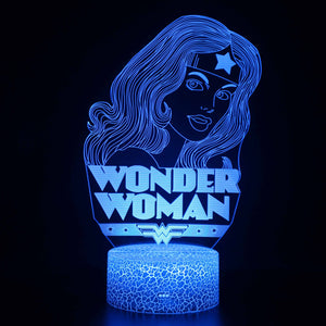 Wonder Woman 3D Night Light