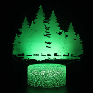 Winter Forest 3D Night Light