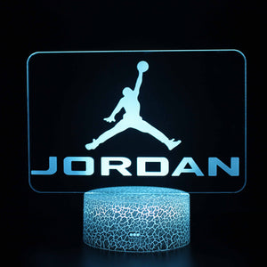 Air Jordan 3D Night Light