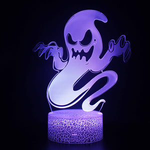 Halloween Ghost 3D Night Light
