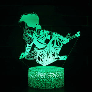 The Unforgiven Yasuo LoL 3D Night Light
