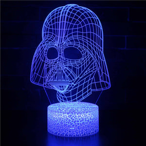 Darth Vader 3D Night Light