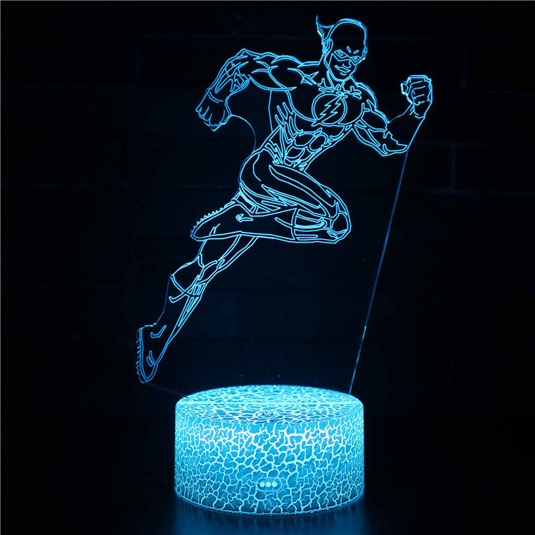 The Flash DC Comic Superhero 3D Night Light