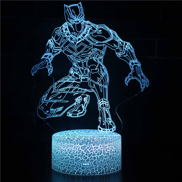 Black Panther 3D Night Light