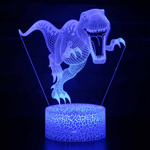 T Rex Large Dinosaur 3D Night Light
