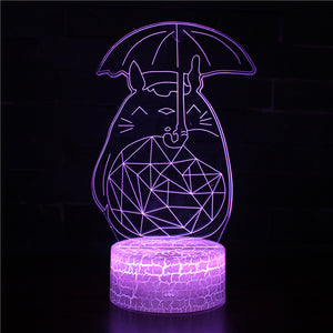 Studio Ghibli My Neighbor Totoro 3D Night Light