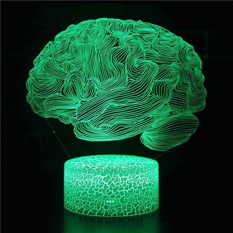 Cerebellum Model Brain 3D Night Light