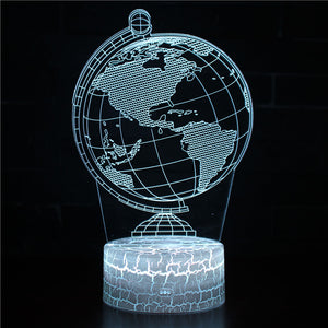 The Earth Globe night light