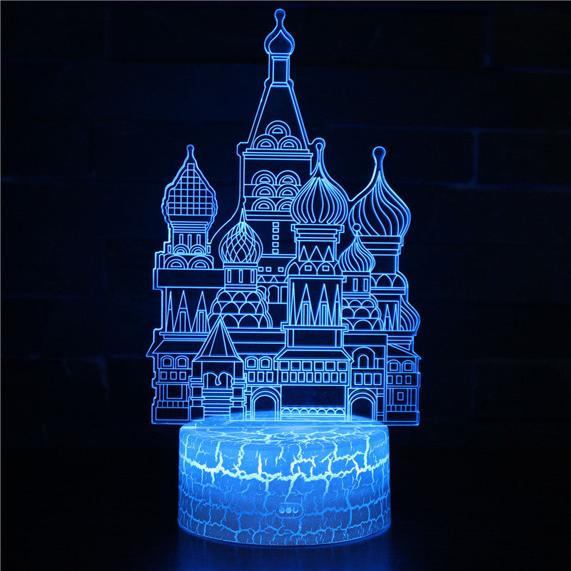 Cinderella Castle 3D Night Light