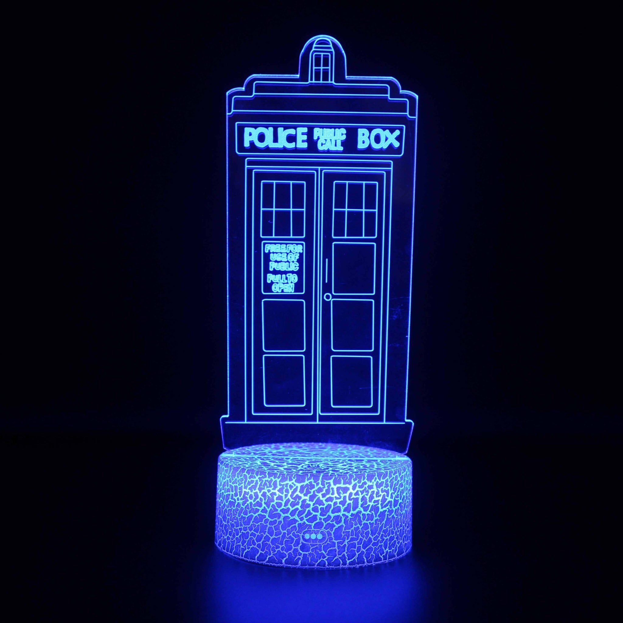 Doctor Who Police Box 3D Night Light