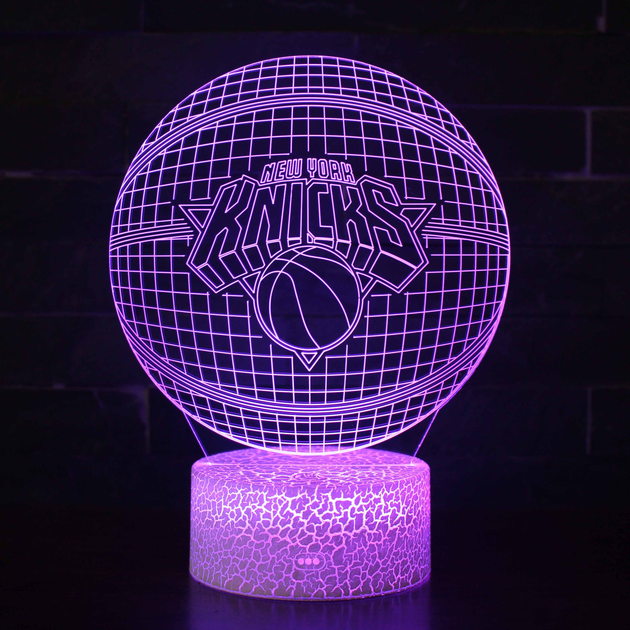 Sacramento Kings NBA Basketball Team 3D Night Light