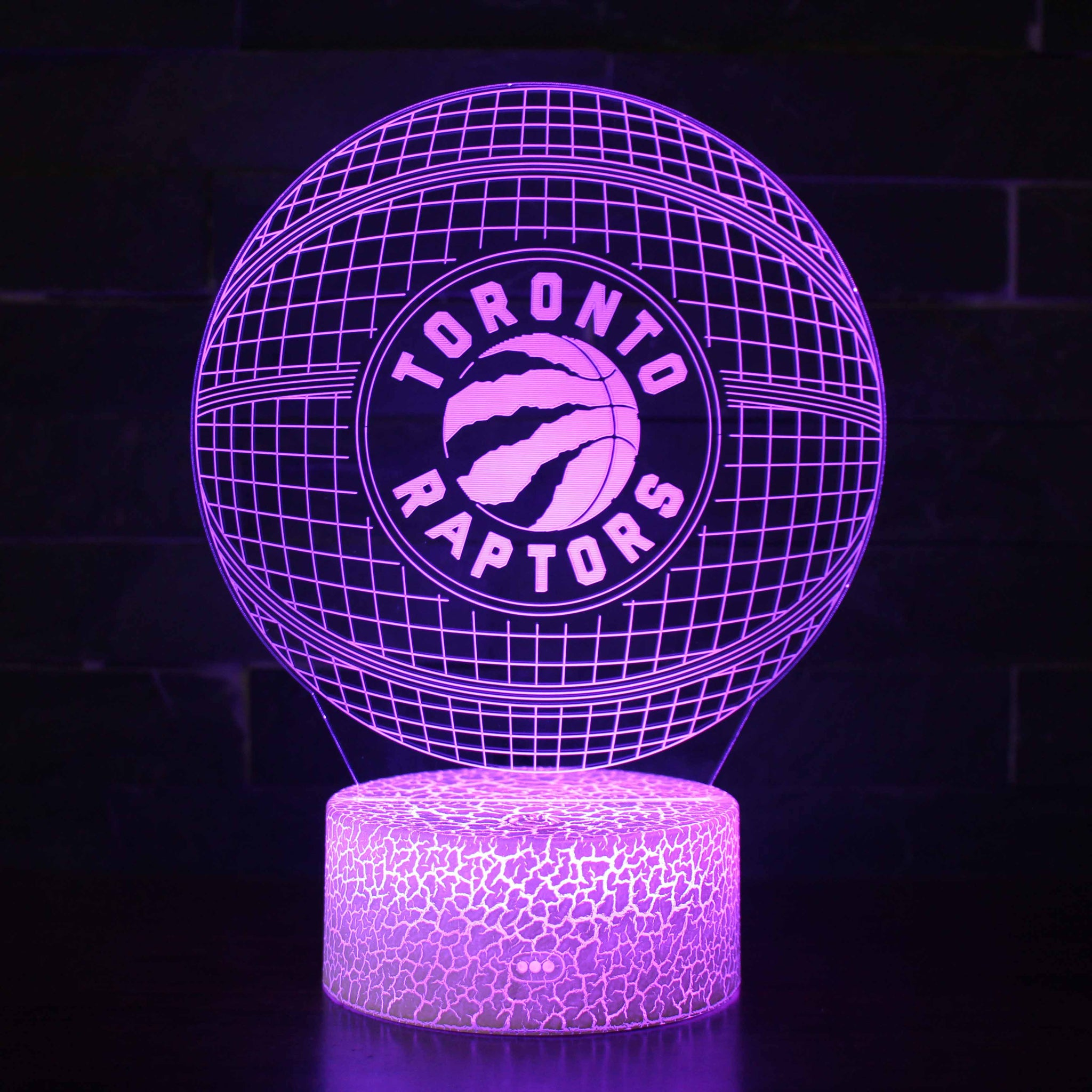 Toronto Raptors NBA Basketball Team 3D Night Light