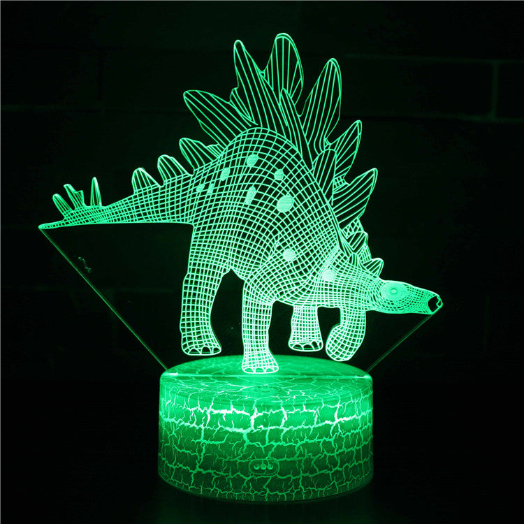 Stegosaurus Dinosaur 3D Night Light