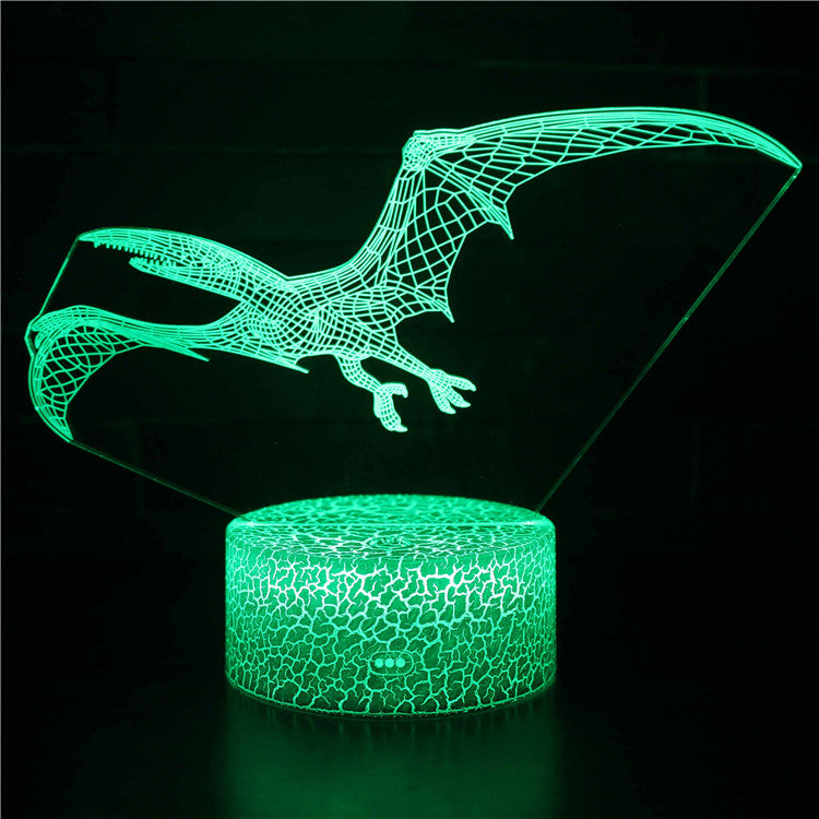 Pterosaur Dinosaur 3D Night Light
