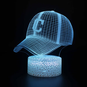 Chicago Cubs MLB Team Baseball 3D Night Light