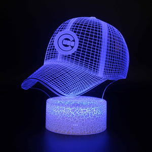 Chicago Cubs Team Baseball 3D Night Light