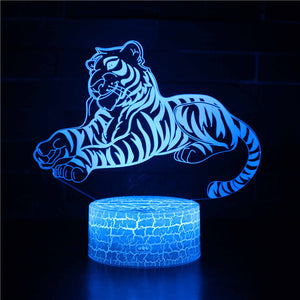 Wild Animal Tiger 3D Night Light