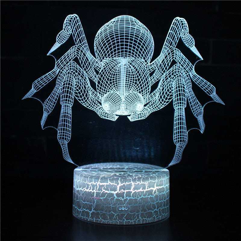 Tarantula Spider 3D Night Light