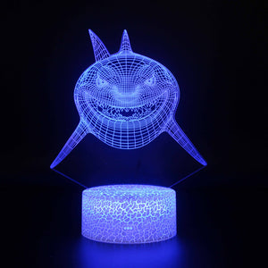 The Killing Shark 3D Night Light