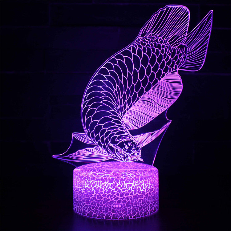 Japanese Koi Fish 3D Night Light