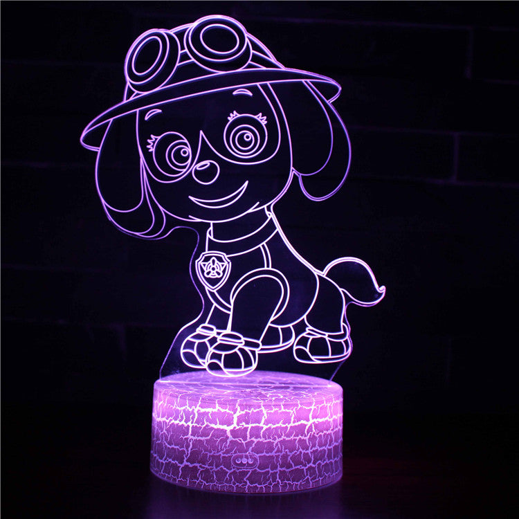 Skye Paw Patrol 3D Night Light
