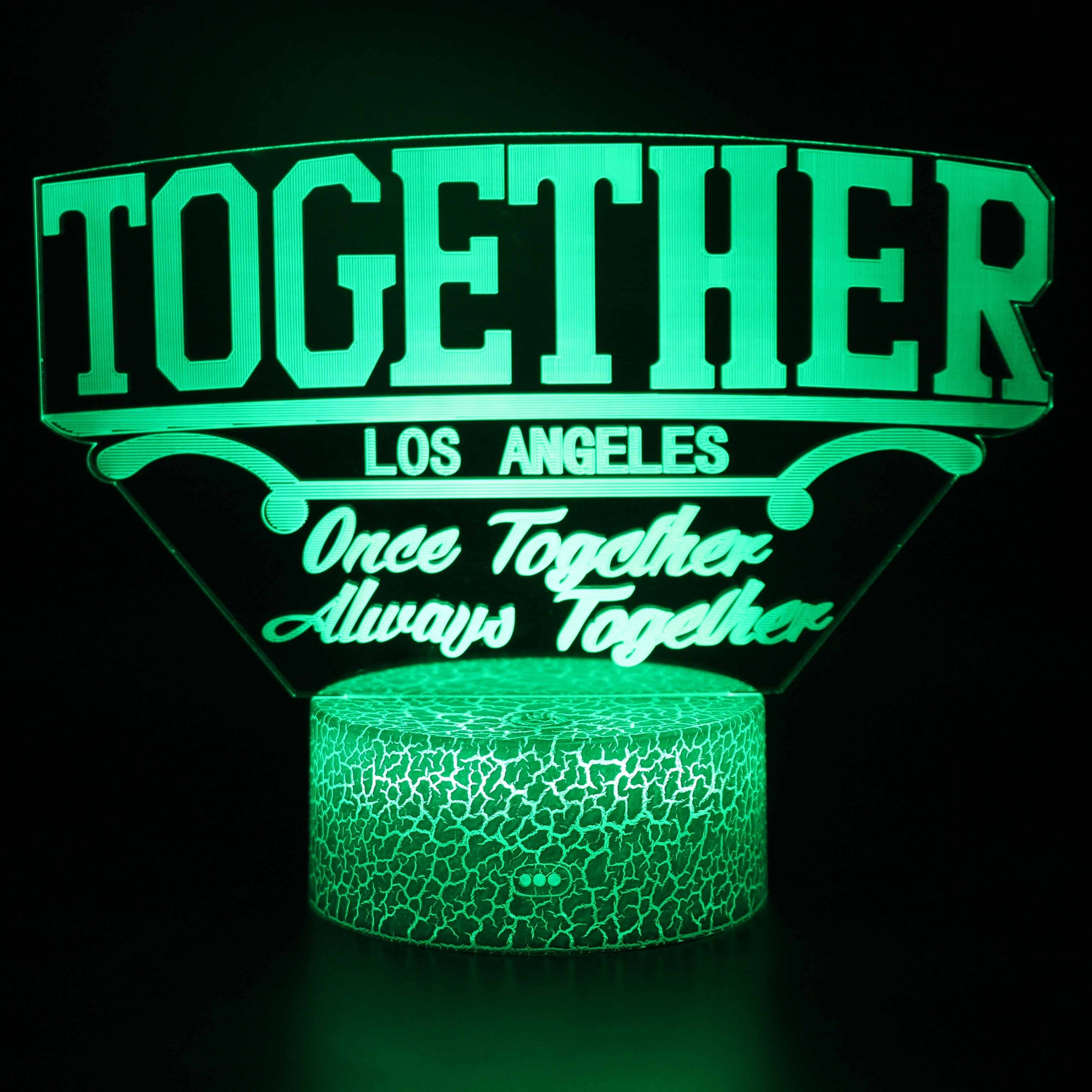 Los Angeles Together as One Music Festival 3D Night Light