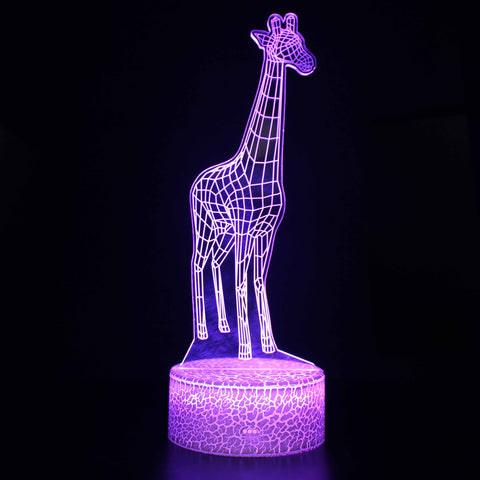 Reallife Giaffie 3D Night Light