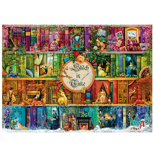 Magical Book Life in Shelf 1000 Pieces Jigsaw Puzzles
